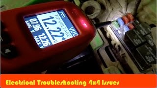 7. ATV 4x4 Not Working Electrical Troubleshooting