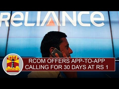 Rcom-offers-app-to-app-calling-for-30-days-at-Rs-1-Thanthi-TV