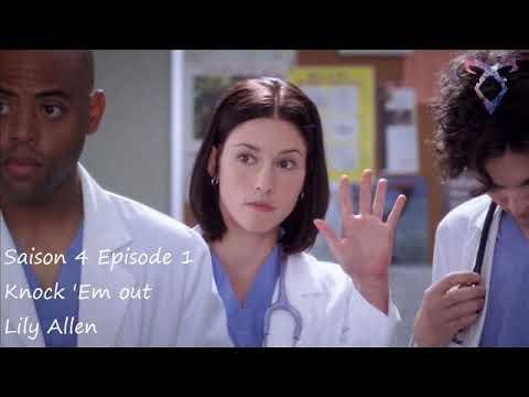 Grey's Anatomy S3E01 - Knock 'Em out - Lily Allen