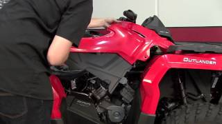 8. Power Commander 5 Install: 2013 Can-Am Outlander 500