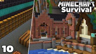 Let's Play Minecraft Survival : STORAGE ROOM : Episode 10