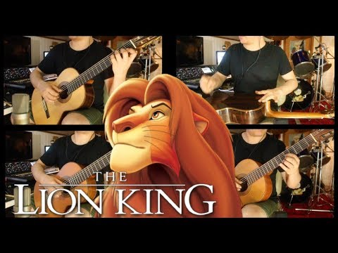 The Lion King (O Rei Leão) Best Songs on Classical Guitar by Fabio Lima