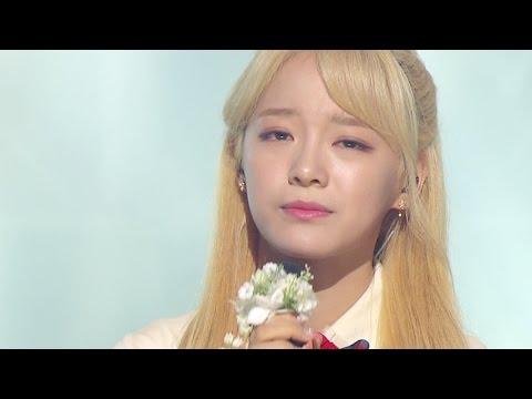 《MOURNFUL》 SEJEONG(gugudan) (세정(구구단)) - Flower way (꽃길) @인기가요 Inkigayo 20161204 (видео)