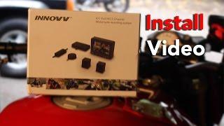 Motorcycle Dash Cam Install |INNOVV K1