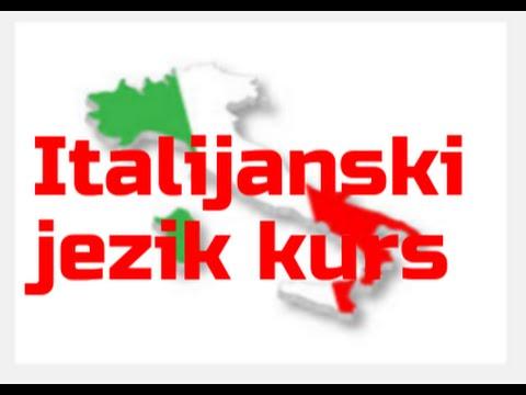 ITALIJANSKI  BEZ MUKE/Lekcija 1