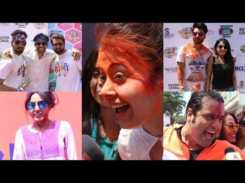 Box Cricket League Holi Party With Ekta Kapoor & Many Celebs