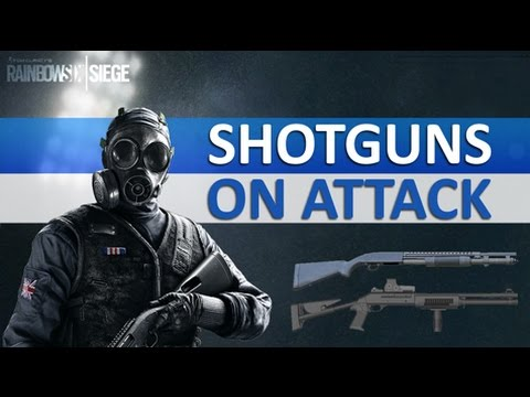 Video [ENGLISH] RAINBOW SIX SIEGE - Advantage and Disadvantage of using Shotgun on attack download in MP3, 3GP, MP4, WEBM, AVI, FLV January 2017