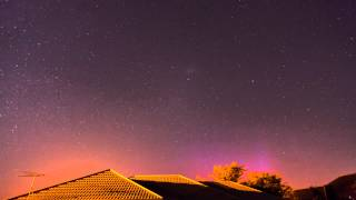 Weak Aurora from Christchurch 17th Feb 2015