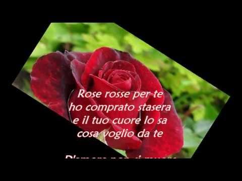 , title : 'massimo ranieri rose rosse testo'