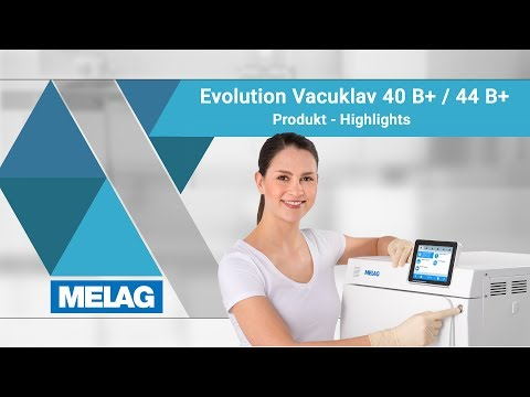Autoklav Klasse B: Vacuklav 40 B+ und 44 B+ Evolution