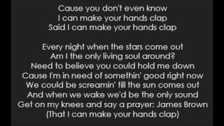 Handclap - Fitz and the Tantrums (Lyrics) Video