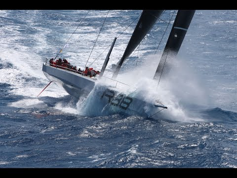 Video: Start of the RORC Caribbean 600 Race