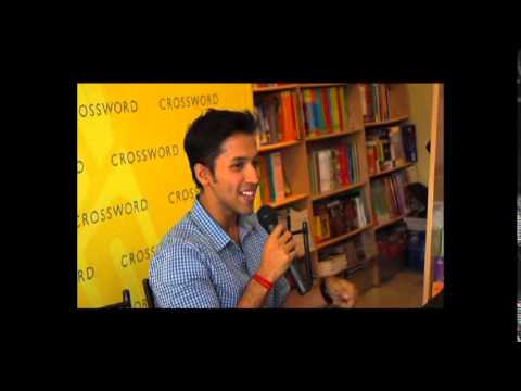 "Durjoy Datta launches his latest book ""When Only Love Remains"" in Nagpur"