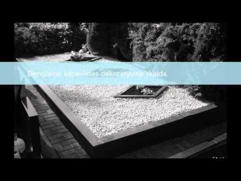 Kapaviečių tvarkymas, paminklai, betonavimas, tvorelės,