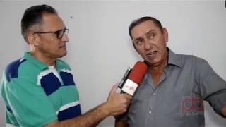 Tarcisio Vale sobre sobre a sede do Sindicato dos Trabalhos em Narezinho