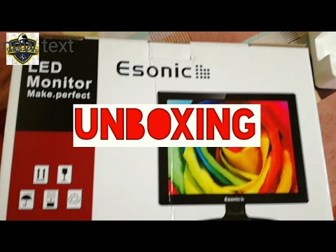 Esonic 17 inch Monitor | Unboxing