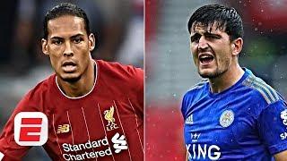 Video Harry Maguire 'not on the same level' as Liverpool's Virgil van Dijk - Frank Leboeuf | ESPN FC MP3, 3GP, MP4, WEBM, AVI, FLV Agustus 2019