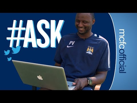 answers - Head of EDS Patrick Vieira answers your questions in this exclusive #ask Subscribe for FREE and never miss another Man City video. http://www.youtube.com/subscription_center?add_user=mcfcofficial...