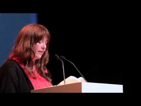 Eimear McBride at the Baileys Prize Shortlist Readings