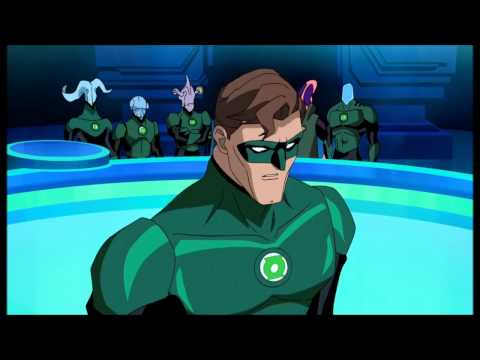 Green Lantern: First Flight (Hal Jordan Recruited By The Guardians)