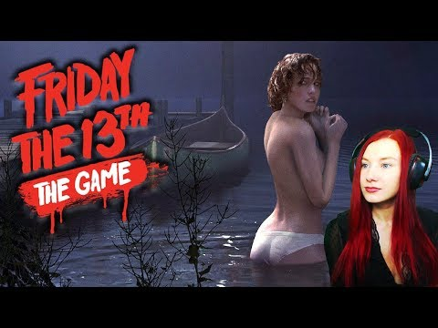 ►Стрим Пятница 13 ► Friday 13th the game STREAM