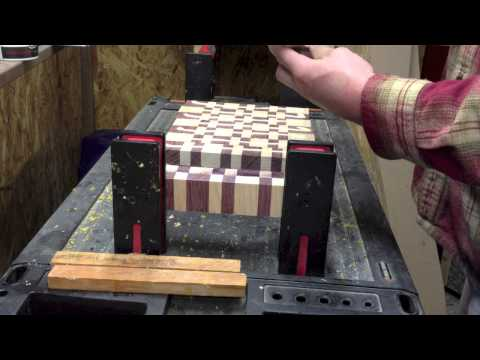 How to Make and End Grain Chopping Block