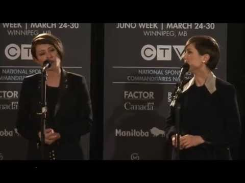 Media Questions after Junos Awards - Tegan and Sara
