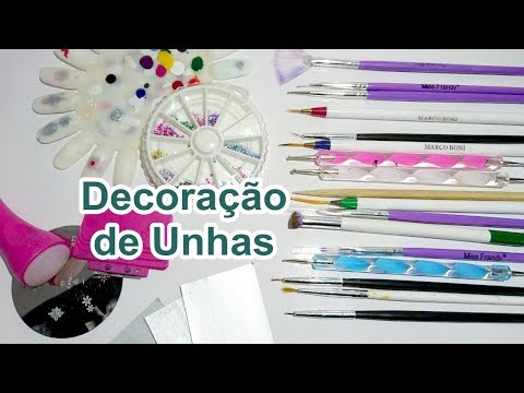 TUDO QUE EU USO PARA FAZER UNHAS DECORADAS  Sil Soares