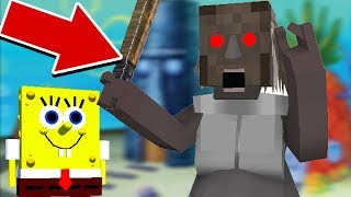 Video Monster School : SPONGEBOB GRANNY HORROR GAME CHALLENGE - Minecraft Animation MP3, 3GP, MP4, WEBM, AVI, FLV November 2018