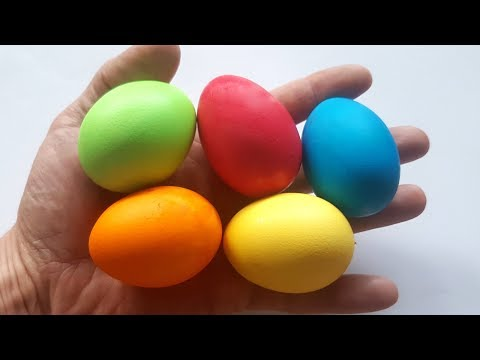 Easter Egg Coloring - How to dye Easter Eggs - Tutorial 🐣Happy Easter 🐣