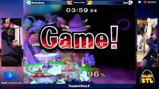 Another bananas set! Iori (Peach/DK) Vs Darkatma (Sheik/Peach) – Toasted Ravs 8