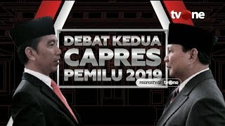 Video [FULL] Debat Kedua Capres 2019 MP3, 3GP, MP4, WEBM, AVI, FLV Februari 2019