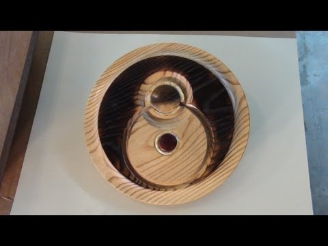 OFF-CENTER FACEPLATE TURNING-WOOD LATHE