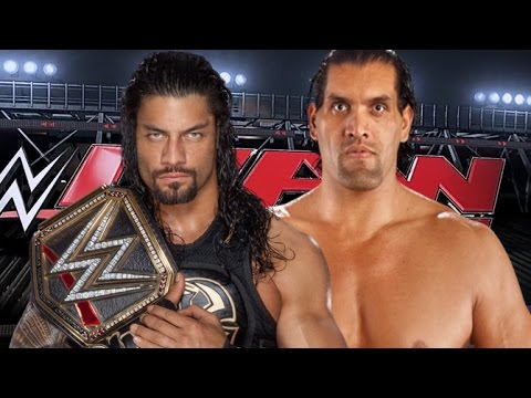 ROMAN REIGNS vs THE GREAT KHALI epic match in WWE