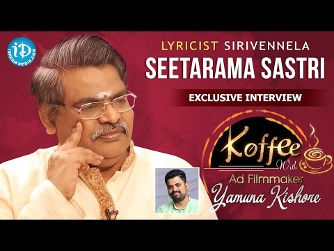 Lyricist Sirivennela Sitaramasastri Exclusive Interview