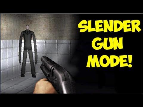 SLENDER GUN MODE!