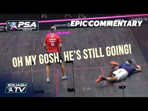 Squash: Our Favourite Commentary Moments - Episode 2