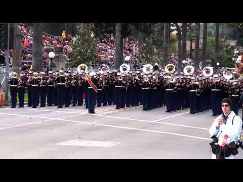 USMC West Coast Composite Band – 2013 Pasadena Rose Parade