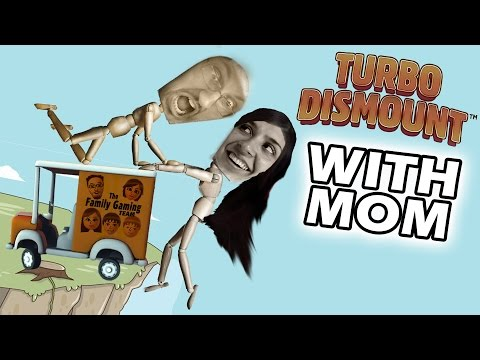 Lets Play TURBO DISMOUNT! Mom & Dad go Ha Ha Ha (Part 2 FGTEEV Gameplay)