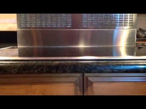 how to vent downdraft cooktop