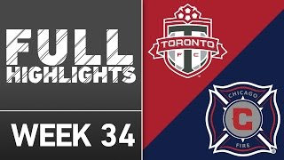 HIGHLIGHTS | Toronto FC vs. Chicago Fire by Major League Soccer