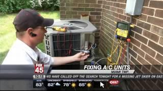 Video AC Repairs Up in Heat Wave MP3, 3GP, MP4, WEBM, AVI, FLV Juni 2018