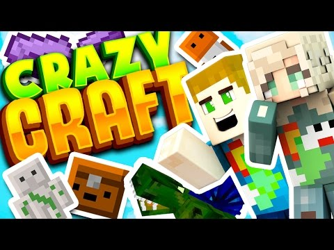 SHE HAS NO IDEA WHAT CRAZY CRAFT IS.. Time To Show Her!! (видео)