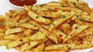 Masala French Fries   इस तरह बनाये क्रिस्पी चटपटे मसाला आलू कुरकुरे   Aloo Kurkure Recipe   Fries.