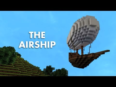 airship - An abandoned airship station is discovered... Note: No mods were used to make the ship move, only green screen. Like the music? Download it here: http://josh...