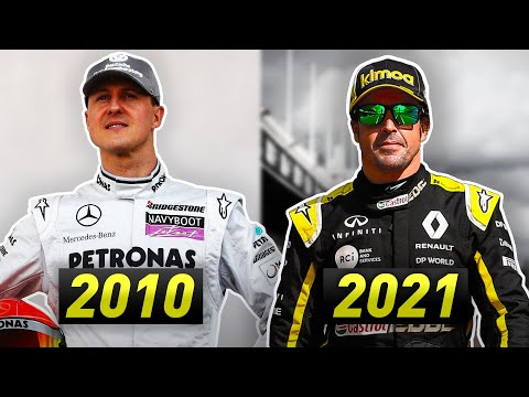 How Alonso's Comeback in 2021 Differs to Schumacher's in 2010?