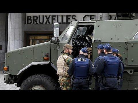 Βέλγιο: Παραμένουν σε κόκκινο συναγερμό οι Βρυξέλλες και τη Δευτέρα
