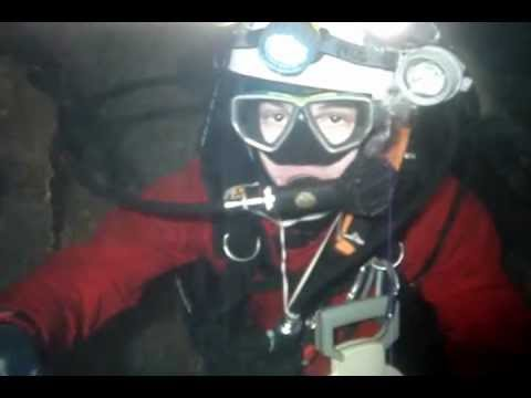 Cave diving Hubcha, Bulgaria