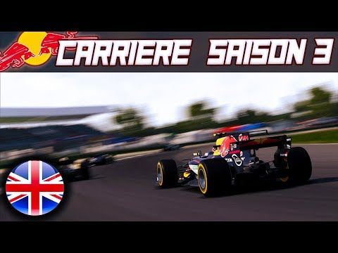 F1 2017 Mode Carrière S3E10 [FR] - SCÉNARIO IMPROBABLE