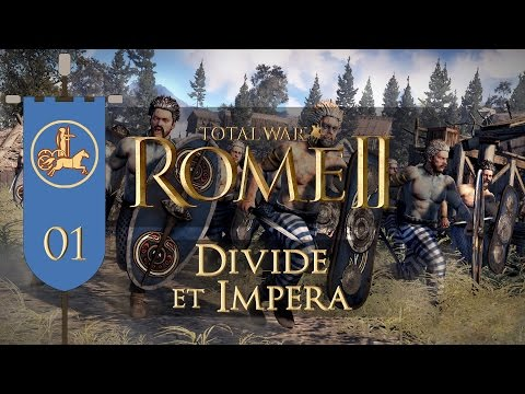 Total War: Rome II (Divide et Impera) - Iceni - Ep.01 - Preparing for War!